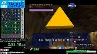 Ocarina of Time Triforce Hunt Randomizer - CLG Speedrunning to Tackle Kids Cancer event