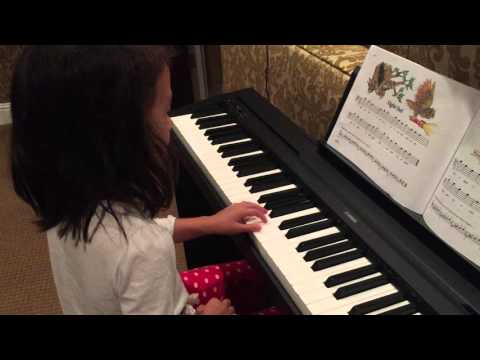 how to play night owl on the piano