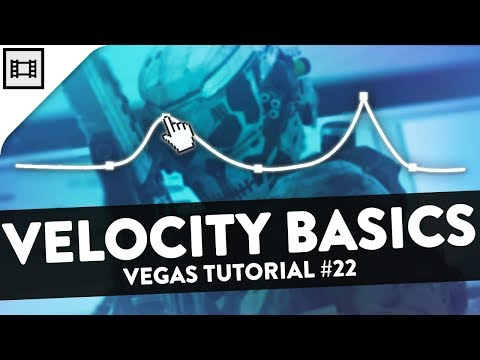 Velocity Basics (How to Sync Clips to Music) - Vegas Pro 15 Tutorial #22