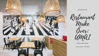 Interior Designer: Restaurant Makeover: UMAI Hot Dogs | 餐厅装修