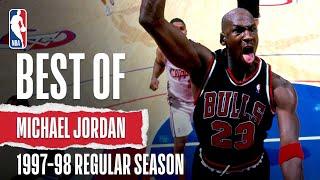 MJ's HIGHLIGHTS From 1997-98 Season | The Jordan Vault