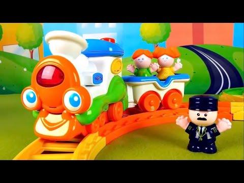 Train Set for kids - Паровозик и железная дорога для детей.  Паровозик WEINA