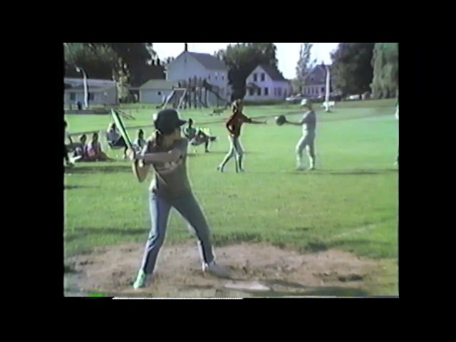 Rouses Point - Mooers PeeWee Softball  7-21-86