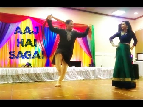 Aaj Hai Sagai  Bollywood Sangeet Performance  April 2017