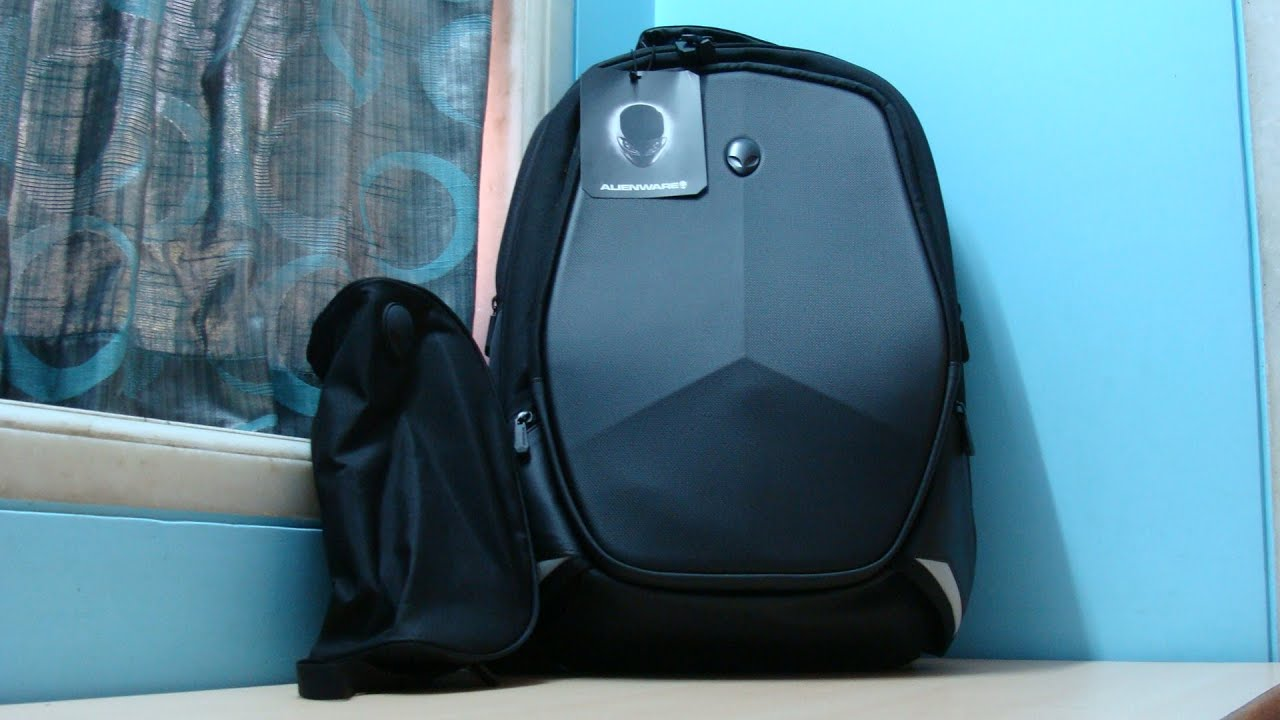 Alienware 18 Inch Vindicator Backpack Unboxing and Review (INDIA ...
