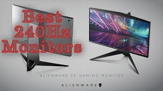 Best 240Hz Monitors In 2018 | Gaming Monitor