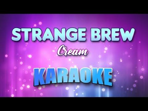 Strange Brew - Cream (Karaoke version with Lyrics)