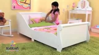 Kidkraft Sleigh Toddler Bed White Bed