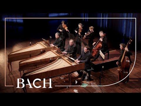 Bach - Concerto for three harpsichords in C major BWV 1064 - Mortensen | Netherlands Bach Society