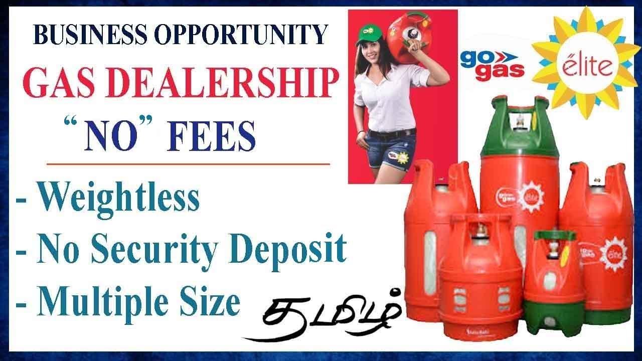 "🛢LPG Dealership for ""000"" | சிலிண்டர் டிஸ்ட்ரிபியூட்டர் | தொழில் வாய்ப்பு | GO Gas Elite | Agent"
