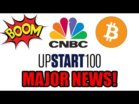 CNBC Lists Bitcoin Company As Top 100 World's Most Promising Start-Ups To Watch!