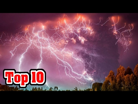 10 STRANGE Natural Disasters CAUGHT ON TAPE