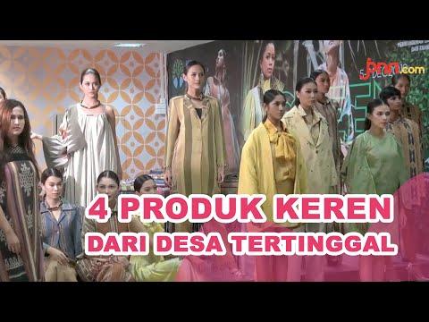 4 Desa Tertinggal Unjuk Gigi di Eco Fashion Week Indonesia