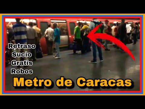 🚇⛑Visitando EL METRO DE CARACAS VENEZUELA 2019