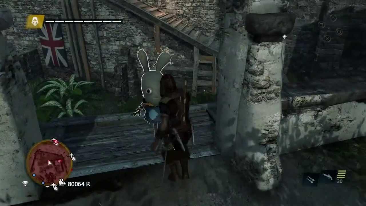 Assassin's Creed Black Flag easter egg: Raving Rabbids in ...