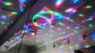 Цветомузыкальный диско шар с USB.