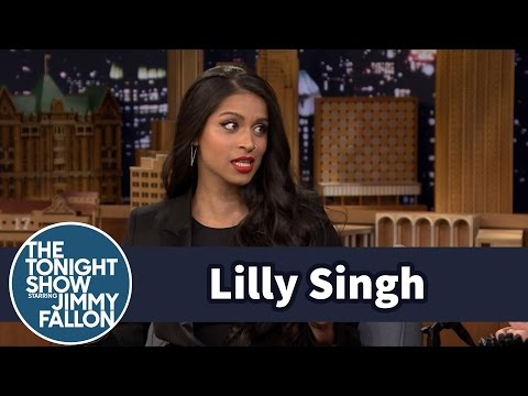 Lilly Singh Might Owe Her Parents Some Royalty Money