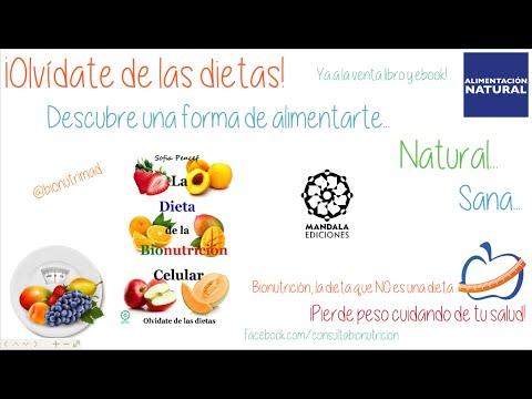 La Dieta de la Bionutrición Celular- Sofia Pencef