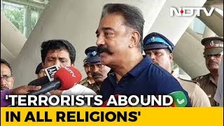 """""""Terrorists Abound In All Religions"""": Kamal Haasan Defends Godse Comment"""