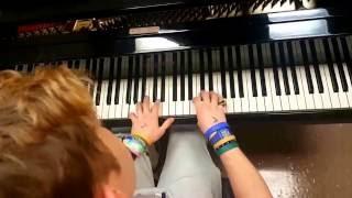 Childish Gambino - Zombies | Tishler Piano Cover
