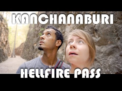 HELLFIRE PASS KANCHANABURI - LIVING IN THAILAND DAILY VLOG (ADITL EP280)