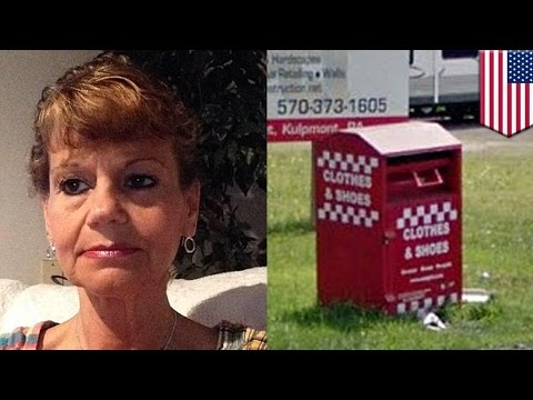 Accidental death: Woman gets arm stuck in clothing drop-off box, dies of hypothermia