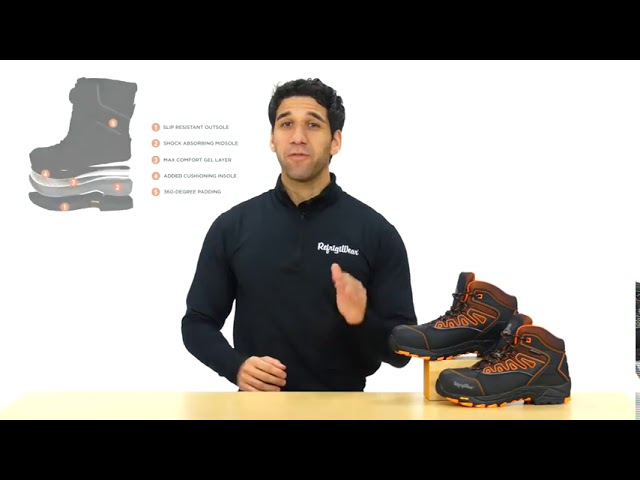 Product Video - RefrigiWear - 1240CR - PolarForce Hiker Boots⠀