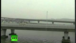 Video Of World's Longest Sea Bridge Opened In China