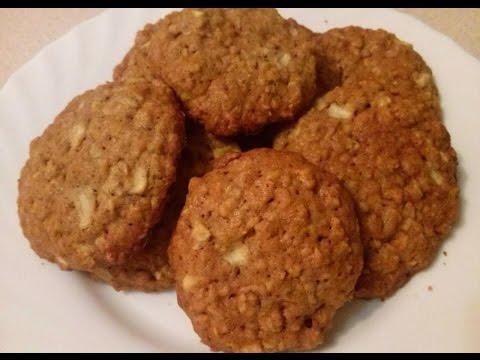 Овсяное печенье с кефиром - пошаговый рецепт с фото на