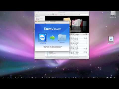How to use Teamviewer (Mac OSX)