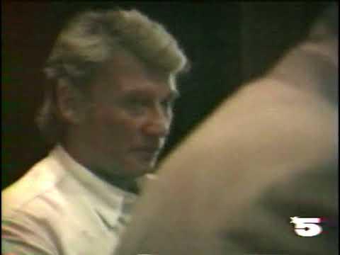 Hallyday, Roda-Gil en Cadillac ( La cinq) 1989