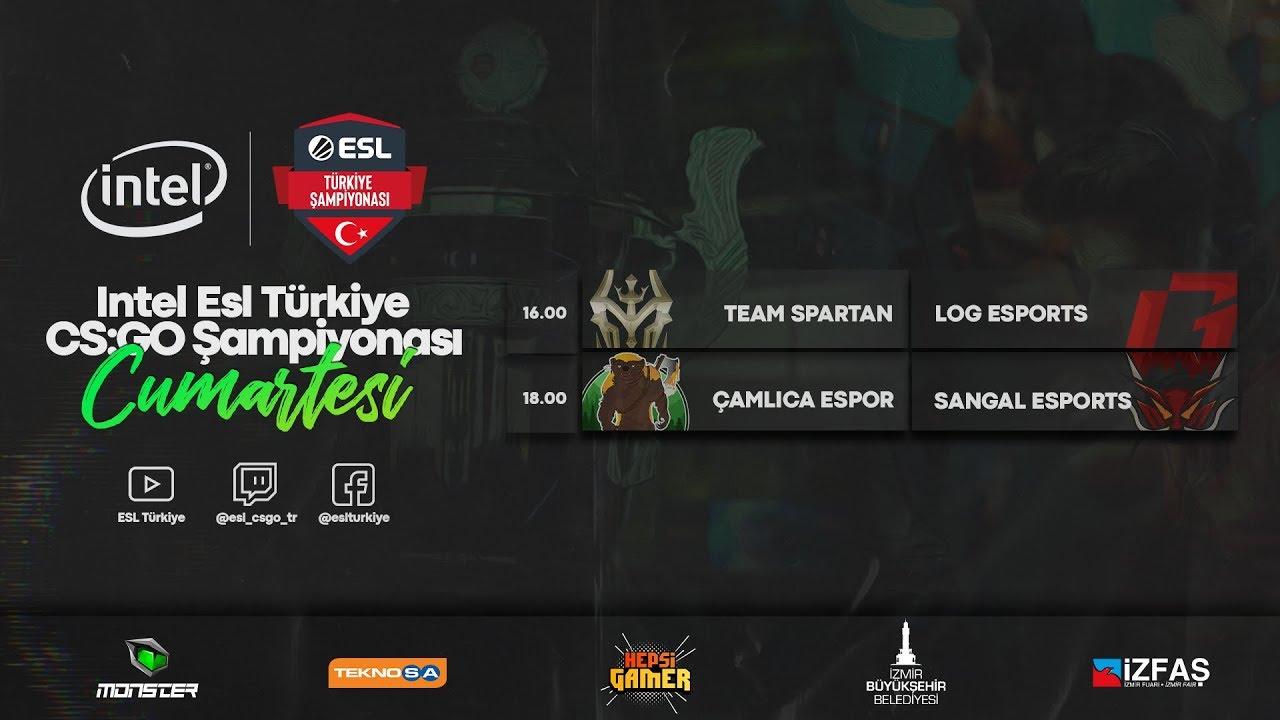 🔴CANLI: Sangal Esports vs. Çamlıca Espor | Intel ESL Türkiye Şampiyonası | 2020 Yaz Sezonu