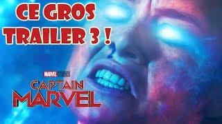 Captain Marvel : nouveau trailer de ouf !