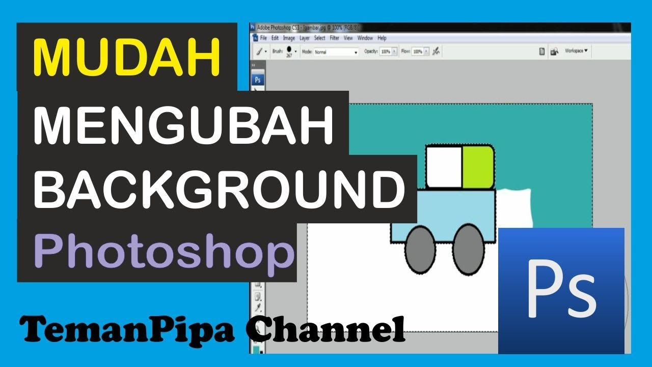Cara Mengubah Warna Background Adobe Photoshop Tutorial