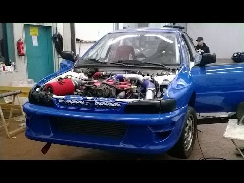 Autocross Subaru Impreza on Link G4 ECU