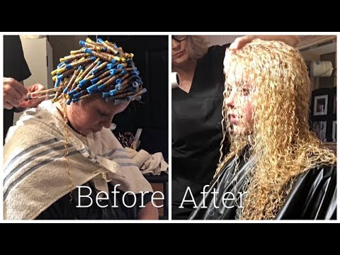 I GOT A CURLY PERM | BEFORE AND AFTER