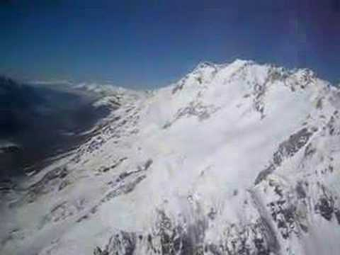 Helicopter Flight Fox Glacier Aoraki Mt Sefton