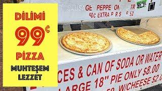 Dilimi 99 Cents Pizzayı Denedim: Muhteşem Lezzet - Fresh Piz…
