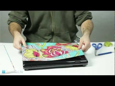 Universal Laptop Skin Installation | DecalGirl