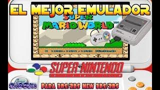 Tutorial El mejor emulador de Super Nintendo Snes para 3DS