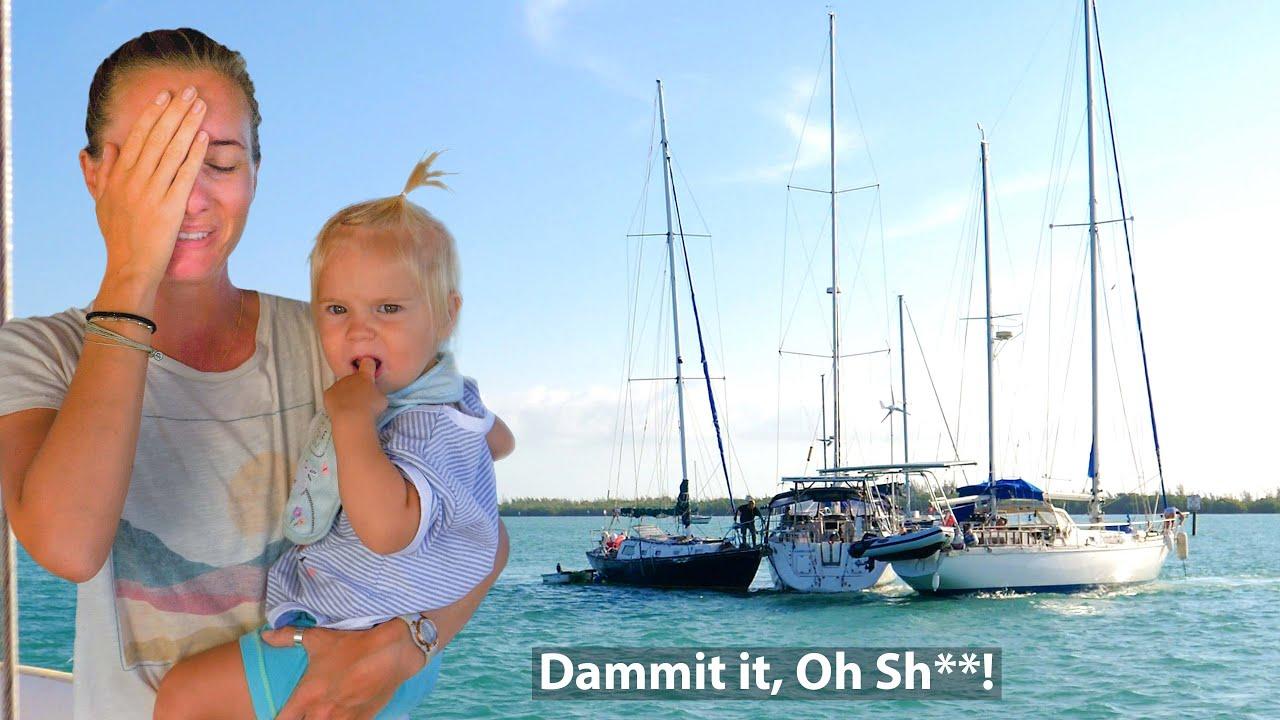 BOAT CRASH Disaster & Taylor Joins the Crew!  Sailing Vessel Delos Ep. 327