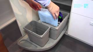 Систама сортировки и мусорное ведро Mobil (для углового шкафа)(, 2016-01-28T14:35:27.000Z)