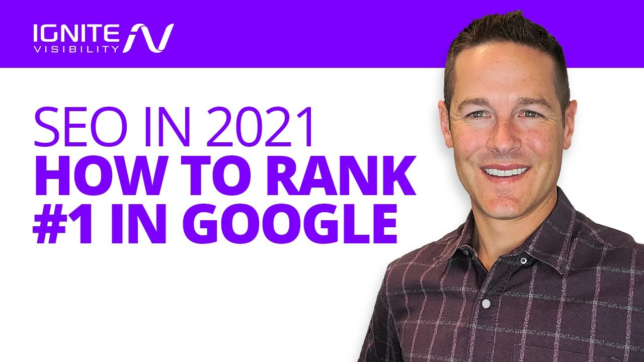 How To Rank #1 In Google   SEO in 2021