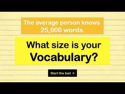 Can You Pass an SAT Vocabulary Test? - 80% Fail!