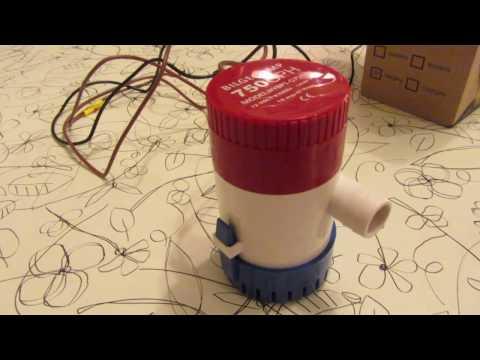 Супер мощный погружаемый водяной насос 12 вольт
