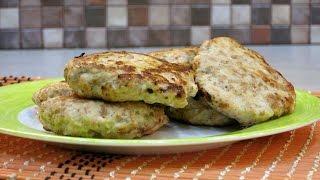 Котлеты из куриных грудок с тыквой и отрубями - рецепт правильного питания