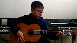 Kunyanyi Halleluya intro-pre chorus by Fernando Christian SD Kr. Anak Panah Surabaya