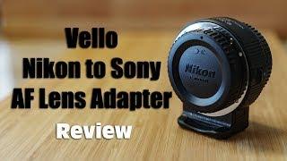 Велло компанія Nikon F байонетом для Sony E-кріплення автофокуса об'єктив адаптер