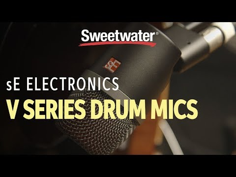 sE Electronics V Series Drum Mics Demo by Sweetwater