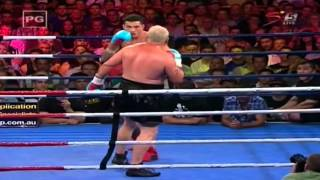 Sonny Bill Williams v Francois Botha 2013/02/08